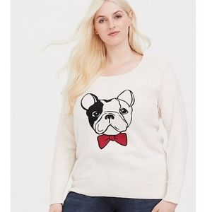 Torrid Frenchie Sweater